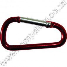 CA1 Ultratec Carabiner Med Round Red