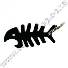 B05 Ultratec Fish Bone Key Ring Opnr Black