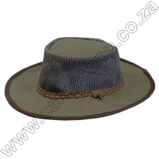 Ram Canvas Panama Bush Hat - Small 56cm