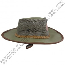 Ram Canvas Panama Bush Hat - Large 60cm
