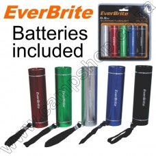 5 Everbrite 3AAA Torches w Batteries