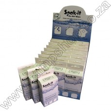 Soak It Eco Wipe 25X25Cm .50Gr 16Pc Pill Pck-24Disp Box