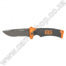 Bear Grylls Folding Knife with Sheath