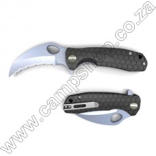 Black Honey Badger Claw - Small - Serrated