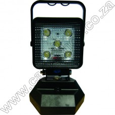 Ultratec Recharge Magnetic Worklight 1100Lum 15W Usb-Ac-Dc