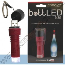 Ultratec BottLED - Rechargeable Red
