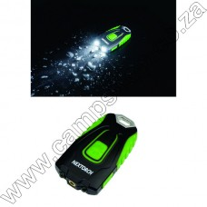 Nextorch Gl20 60 Lumen Persional Light W- Laser Pointer Black and Green