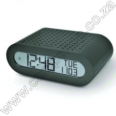 Rrm116 Basic Radio Alarm Clock - Dark Grey