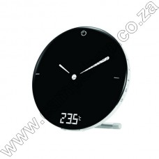Rm120 Digital Clock With Analog Display And Indoor Temp
