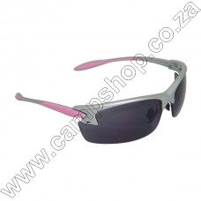 Pg0820Cs Radians Womans Shooting Glasses Smoke Pink Frame