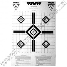 Ram Scope Zero Targets (3) Black