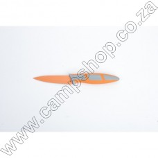 3.5In Orange Paring Knife Non-Stick Stainless Steel Blade Ergo Handle