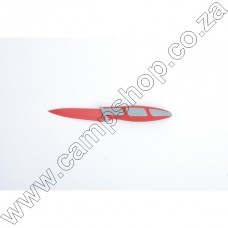 3.5In Red Paring Knife Non-Stick Stainless Steel Blade Ergo Handle