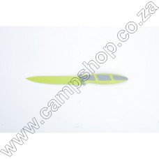 5In Green Utility Knife Non-Stick Stainless Steel Blade Ergo Handle