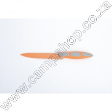 5In Orange Utility Knife Non-Stick Stainless Steel Blade Ergo Handle