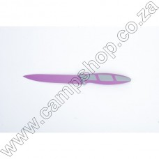 5In Purple Utility Knife Non-Stick Stainless Steel Blade Ergo Handle