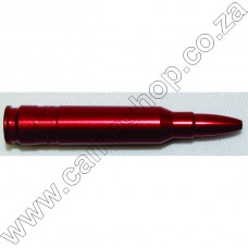 .223 Remington Red Aluminium Snap Cap (1)