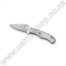 Bug Plain Edge Stainless Steel Handle Silver