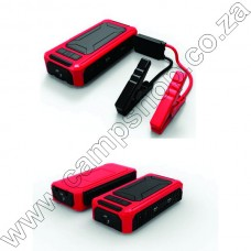 Jump Start Kit - 18000 Mah 5V Usb,12V,,19V Out, W Smart Clamp and Chargs Red