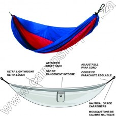 Ultratec Double 230T Poly Tech Hammock Blue