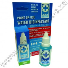 Aqua Salveo 30ML Water Disinfectant