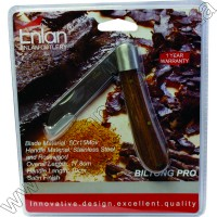 Enlan Biltong-Pro Wood Folder S-Foot Blade Blister