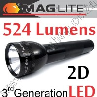 Maglite ML300L LED 3rd GEN 2D Black