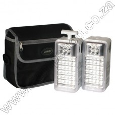 Ultratec 24 and 4 LED Emergency Camping Lantern Set