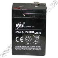 6V 4Ah Gel Cell Battery