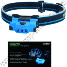 Nextorch Blue 2XAAA, 48 Lum Eco-Star H-Lamp W-Capclip