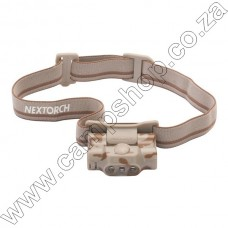 Desert Camo 30 Lumen Nextorch 1 x AAA Eco Star Headlamp