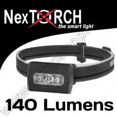 NEXTORCH TREKSTAR ULTRA LIGHT WT HEADLAMP X3AAA BLACK