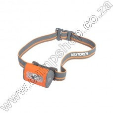 NEXTORCH TREKSTAR ULTRA LIGHT WT HEADLAMP 3 AAA ORANGE