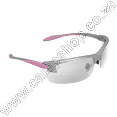 Pgo810Cs Radians Womans Shooting Glasses Pink Frame