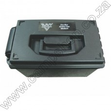 RAM Dry Box - Ammo Can Black 37X21X23.5Cm