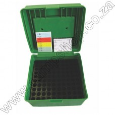 RAM CARTRIDGE STORAGE BOX (100) .22 -.250