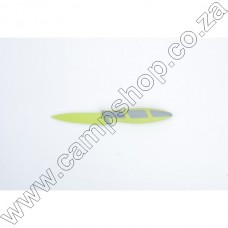 3.5In Green Paring Knife Non-Stick Stainless Steel Blade Ergo Handle