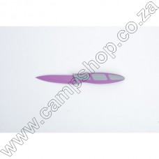 3.5In Purple Paring Knife Non-Stick Stainless Steel Blade Ergo Handle