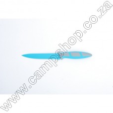 5In Blue Utility Knife Non-Stick Stainless Steel Blade Ergo Handle
