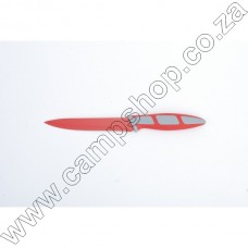 5In Red Utility Knife Non-Stick Stainless Steel Blade Ergo Handle