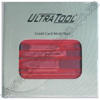 Credit Card Mini Tools - Red