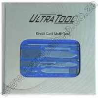 Credit Card Mini Tools - Blue