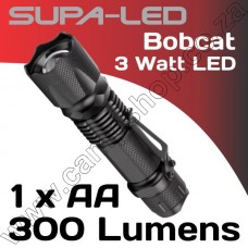 SupaLED BobCat 3W LED 1 AAA with Clip