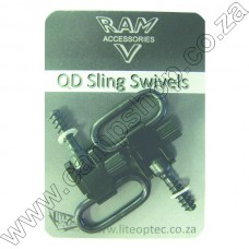 1 In Sling Swivels - One Pair QD Wood - Long and Long