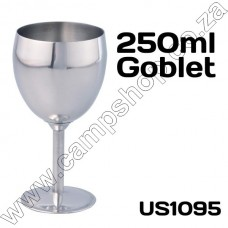 250ML Thermosteel Stainless Steel Goblet